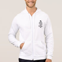 Keep calm and rodeo on hoodie