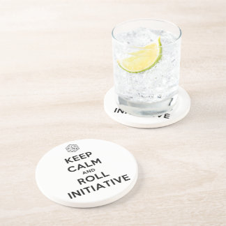 Keep Calm and Roll Initiative Coaster