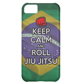 keep calm and roll jiu jitsu cover for iPhone 5C