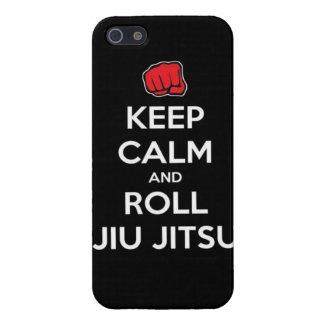 keep calm and roll jiu jitsu iPhone 5 covers