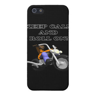 Keep Calm And Roll On Cases For iPhone 5