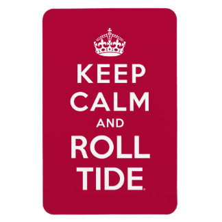 Keep Calm And Roll Tide Rectangular Photo Magnet