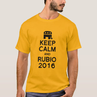 KEEP CALM AND RUBIO 2016 -.png T-Shirt