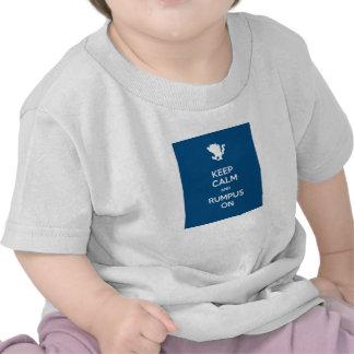 Keep Calm And Rumpus On Shirts