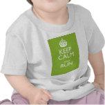 KEEP CALM AND RUN TEE SHIRT