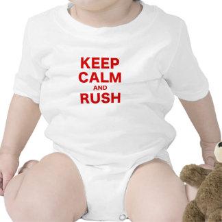 Keep Calm and Rush Shirts