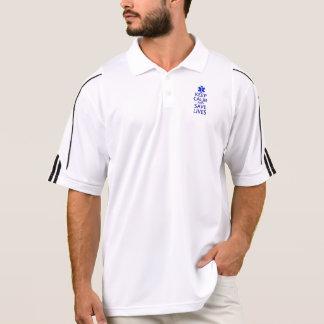Keep Calm and Save Lives Polo Shirt