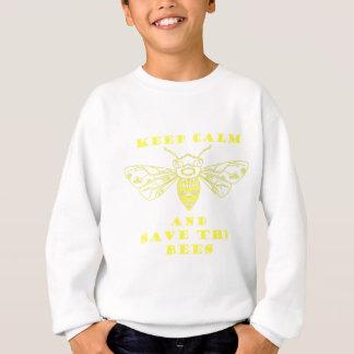 Keep Calm and Save the Bees Sweatshirt