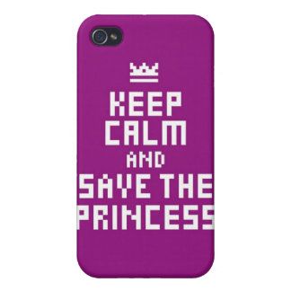Keep Calm and Save the Princess Case For iPhone 4