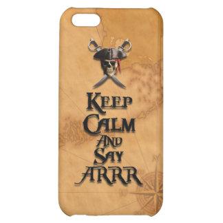 Keep Calm And Say ARRR iPhone 5C Case