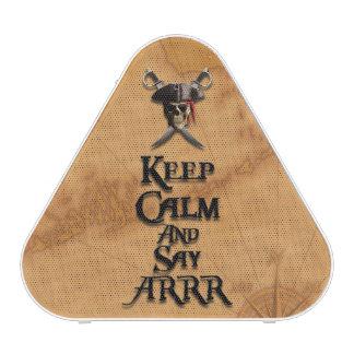 Keep Calm And Say ARRR Speaker