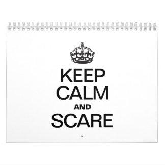 KEEP CALM AND SCARE CALENDARS
