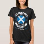 Keep Calm And Scottish Girl Handle It Tshirt