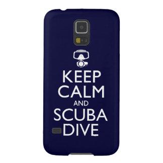 Keep Calm and Scuba Dive Galaxy S5 Case