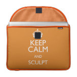 KEEP CALM AND SCULPT SLEEVES FOR MacBook PRO