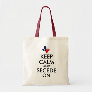 Keep Calm and Secede On Tote