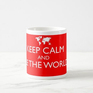 Keep Calm and See the World Mug