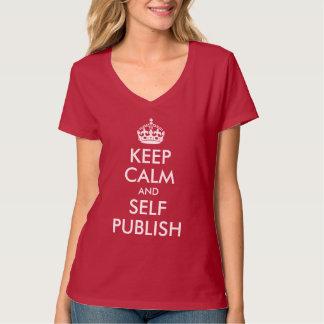 Keep Calm and Self Publish Tees