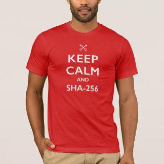 KEEP CALM AND SHA-256 T-Shirt