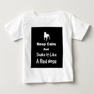 Keep Calm and Shake It Like a Red Nose Tee Shirt