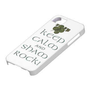 Keep Calm and Sham Rock! iPhone 5 Covers