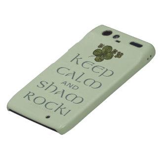 Keep Calm and Sham Rock! Droid RAZR Cover