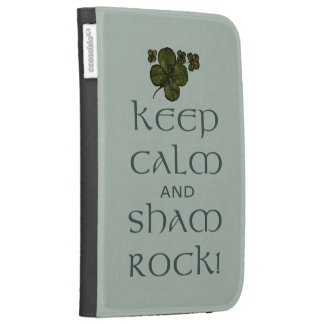Keep Calm and Sham Rock! Kindle 3 Cases