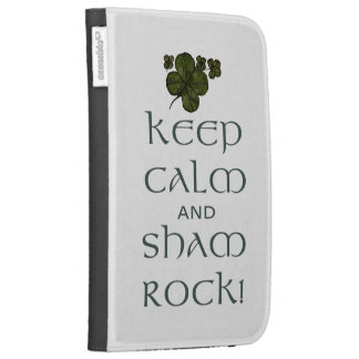 Keep Calm and Sham Rock! Cases For Kindle