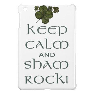 Keep Calm and Sham Rock! Cover For The iPad Mini