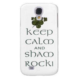 Keep Calm and Sham Rock! Galaxy S4 Case