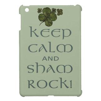 Keep Calm and Sham Rock! iPad Mini Covers