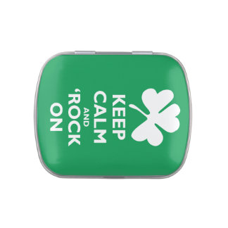 Keep Calm and Sham-Rock On Jelly Belly Tins
