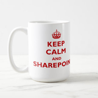 Keep Calm And SharePoint - Mug