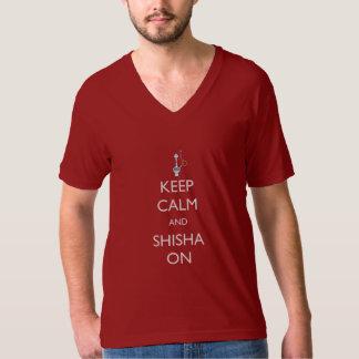 Keep Calm and Shisha On T-Shirt