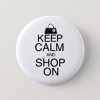 Keep Calm and Shop On Button