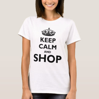 Keep Calm and Shop T-Shirt