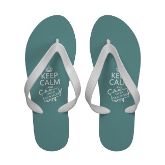 Keep Calm and Show Your Work any color Sandals