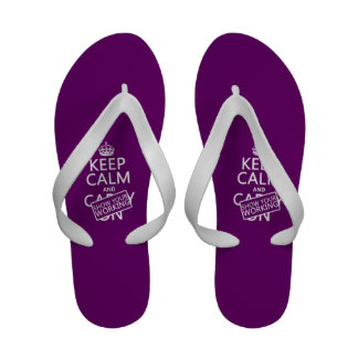 Keep Calm and Show Your Working any color Sandals