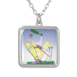 keep calm and shut your gob, tony fernandes silver plated necklace