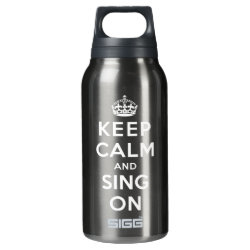 SIGG Thermo Bottle (0.5L) with Keep Calm and Sing On design