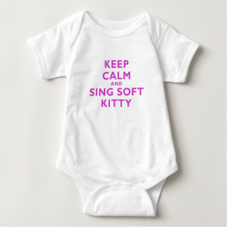 Keep Calm and Sing Soft Kitty Tee Shirt