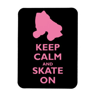 Keep Calm and Skate On Magnet