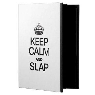 KEEP CALM AND SLAP COVER FOR iPad AIR