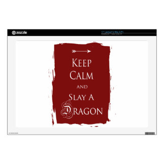 Keep Calm and Slay a Dragon Decal For Laptop