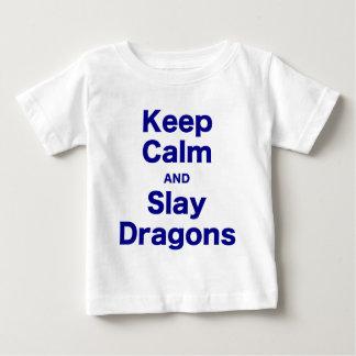 Keep Calm and Slay Dragons T Shirt