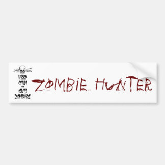 Keep Calm and Slay Zombies Bumper Stickers