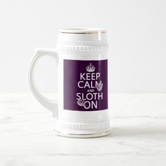 Keep Calm and Sloth On Mugs