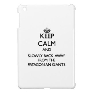 Keep calm and slowly back away from Patagonian Gia iPad Mini Cover