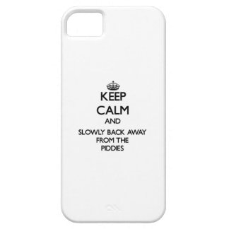 Keep calm and slowly back away from Piddies iPhone 5 Cover