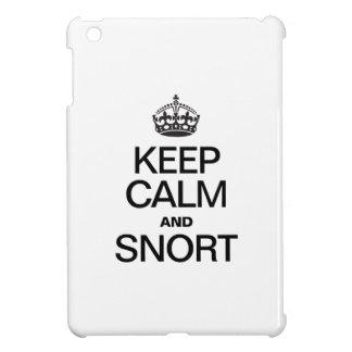 KEEP CALM AND SNORT iPad MINI CASE